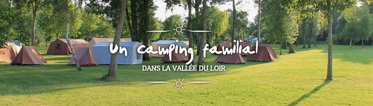 Un camping familial dans la vallée du Loir