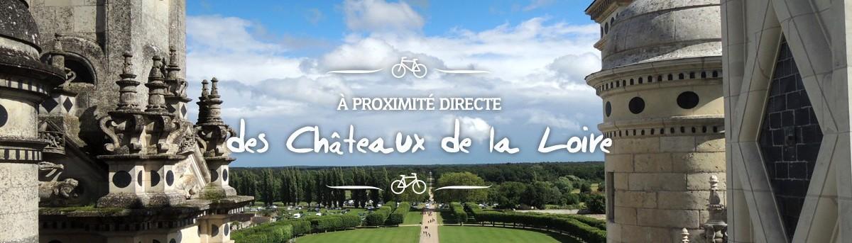 A proximité des châteaux de la Loire
