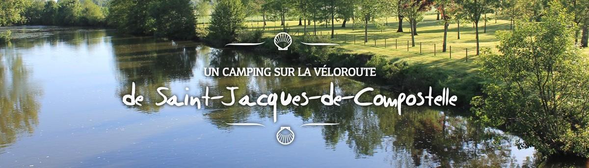 Un camping sur la véloroute de Saint-Jacques-de-Compostelle