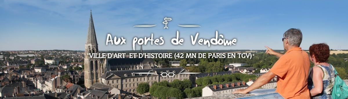 Aux portes de Vendôme, ville d'art et d'Histoire (42 mn de Paris en TGV)